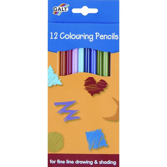 Creioane de colorat, set 12 buc.