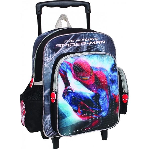 Troler gradinita Spiderman Silver