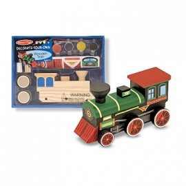 Trenulet de pictat si asamblat