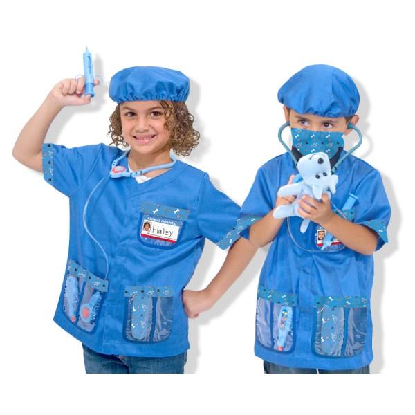 Costum carnaval copii 'Medic veterinar'
