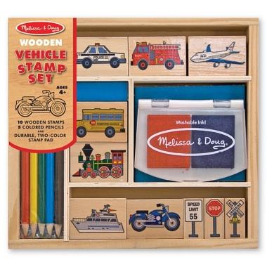 Set de stampile 'Vehicule'